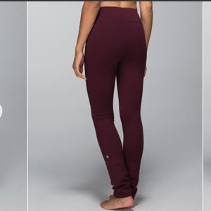 Lululemon Skinny Will Pant *Full-On Luon sz 10